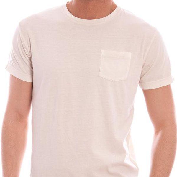Pánské tričko Gant - Béžová / S