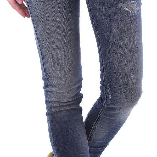 Dámské jeans Sexy Woman - Tmavě modrá / XXS