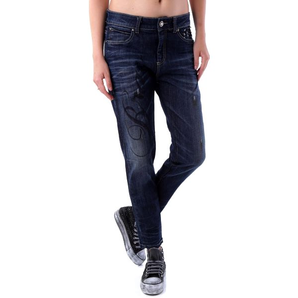 Dámské jeans Bray Steve Alan - Tmavě modrá / 31