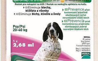 Frontline Combo Spot-on Dog L sol 1x2,68ml, pro velké psy