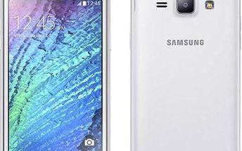 Samsung Galaxy J1 Duos (J100H/DS) (SM-J100HZWDETL ) bílý + Doprava zdarma