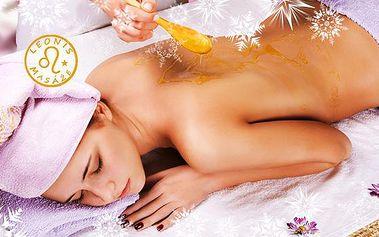 Masáž dle výběru ve studiu Leonis! Čokoládová, medová, růžová, celotělová energizující, těhotenská aromatická!