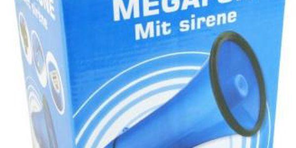 Megafon se sirénou, Megafon modrá