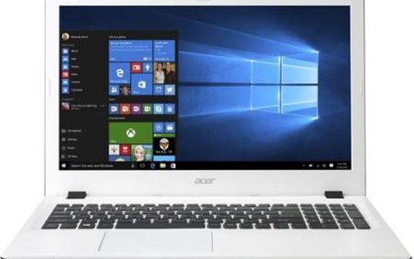 Notebook Acer E15 bílý + DOPRAVA ZDARMA