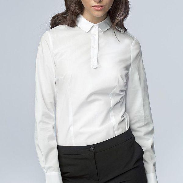 Dámská stylová košile Nife 38389 - bílá barva