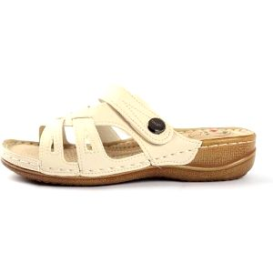 Dámské zdravotní pantofle Warm Beige