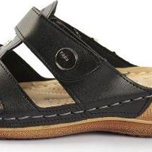 Dámské zdravotní pantofle Warm Black