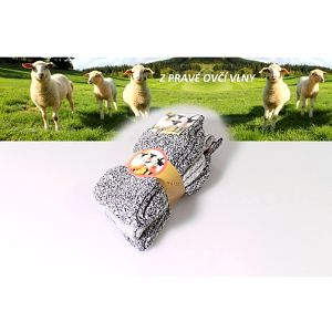 Pánské thermo ponožky z ovčí vlny 3 páry