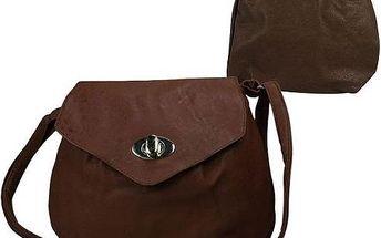 Dámská kabelka z ekokůže LD-08 Camel