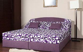 Čalouněná postel Petra