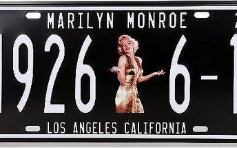Cedule na zeď Marylin Monroe