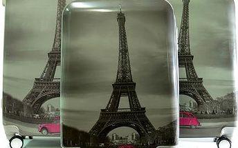 Sada cestovních kufrů s motivem Paříž