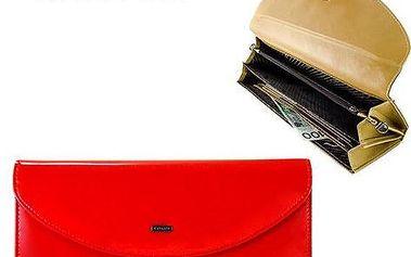 Dámská kabelka z ekokůže s řetízkem YU-20 Red