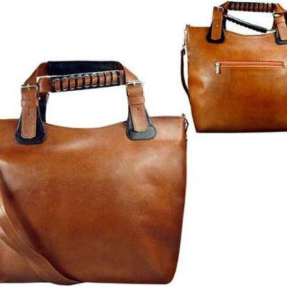 Kvalitní kabelka z eko-kůže CAMEL A4