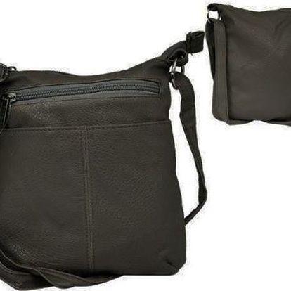 Dámská kabelka z ekokůže LDN-13 Grey