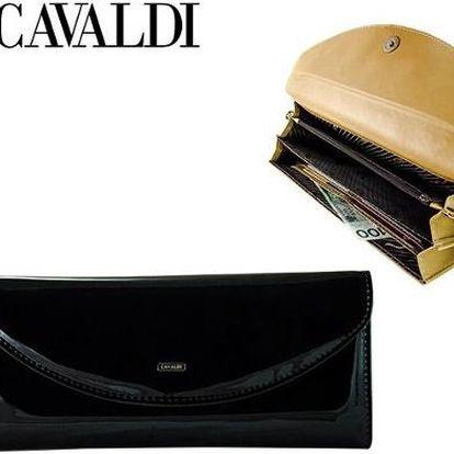 Dámská kabelka z ekokůže s řetízkem YU-20 Black