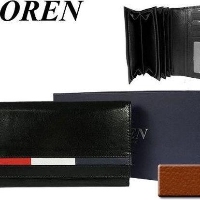 Dámská peněženka z pravé kůže LOREN Italian