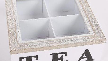 Dekorativní krabička na 4 čaje