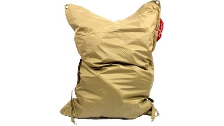 Sedací pytel CRAZYBAG outdoor s popruhy golden rain 188 x 140