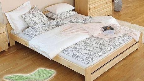 Postelový komplet 120x200 se 7 zónovou zdravotní matrací