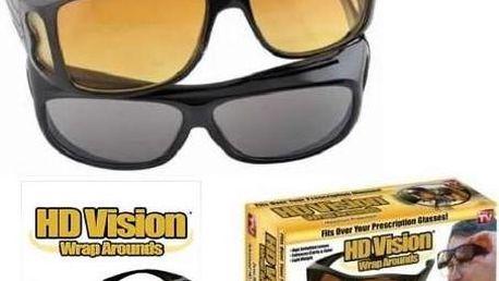 HD vision brýle pro lepší vidění