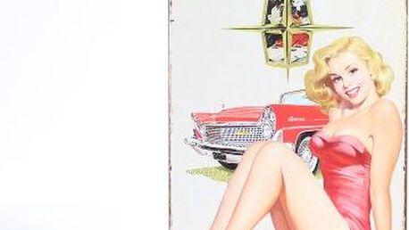 Dekorativní plechová cedule Continental