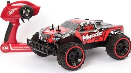 Velký RC model MUSCLE CAR červené