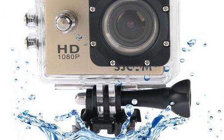 Kvalitní voděodolná sportovní kamera FULL HD 1080p