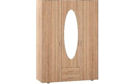 Skříň GRACJA, rozměry: 127/193/55cm