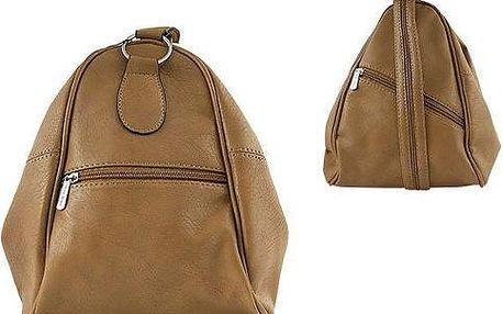 Elegantní dámský batoh 2v1 PC-2 Beige
