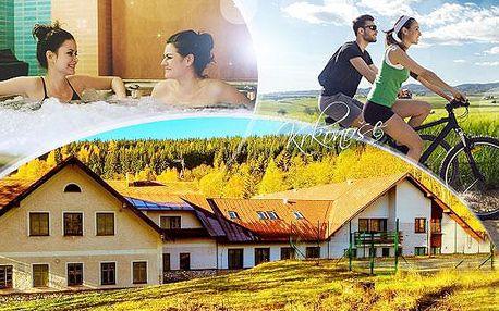 Krkonoše - Horní Maršov! Pobyt na 4 nebo 5 dní pro 1 osobu vč. polopenze,vstupu do wellness a zapůjčení horského kola!