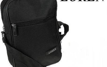 Pánská taška přes rameno S01-600D Black