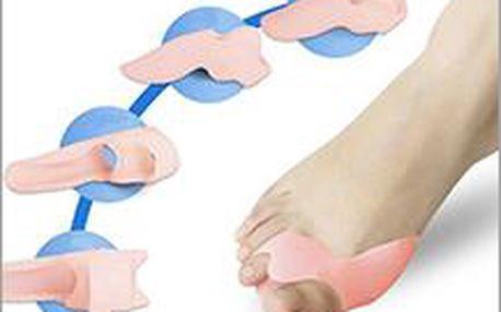 Silikonová ortopedická pomůcka pro zmírnění problému s vybočujícím palcem. Velice ocení každá žena.