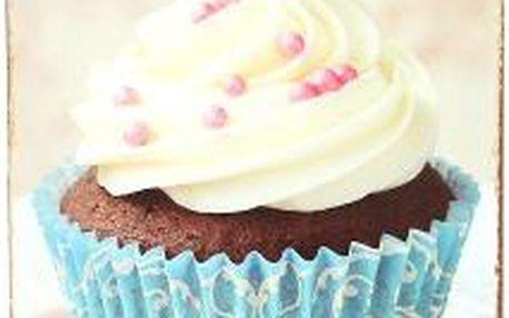Dekorativní plechová cedule Cupcake