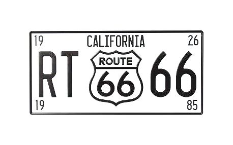 Dekorativní plechová cedule California Route 66
