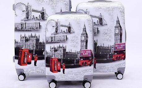 Sada cestovních kufrů s motivem Londýn