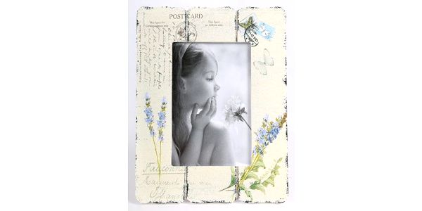 Rámeček na fotku květinový motiv