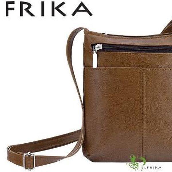 Dámská kabelka z eko kůže ELDN-13 Brown