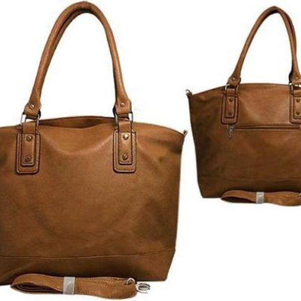 Kvalitní dámská kabelka M1 hnědá