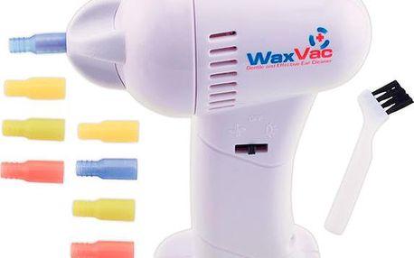 Přístroj na čištění uší WaxVac v akci!