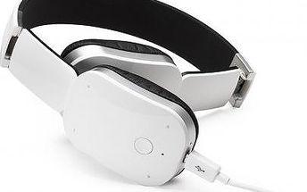 Náhlavní sluchátka Cannice MKF-HB1, bílá