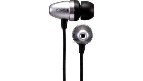 Špuntová sluchátka Denon AH-C751, stříbrná