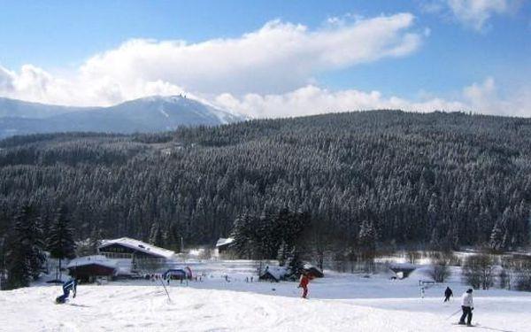 Železná Ruda v zimě - 4 dny v hotelu Enzian*** s chutnou snídaní a vínem v Železné Rudě