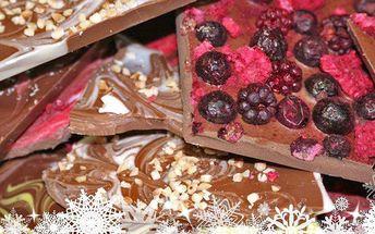 Vlastnoruční odlévání čokoládových dobrot