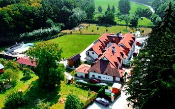 2–7denní pobyt pro 2 v Mariánském údolí v Brně v penzionu Kadlcův Mlýn