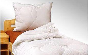 Antialergenní deka a polštář s téměř 50% slevou!
