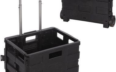Plastový kufr na kolečkách