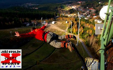 Extrémní Bungee Jumping z výšky až 60 metrů na 8 lokalitách v České republice!