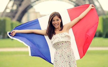 Odpolední kurz francouzštiny pro mírně pokročilé I - čtvrtek 16.30 - 18.00 s českou lektorkou