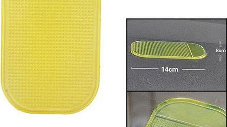 Nanopodložka do auta - žlutá